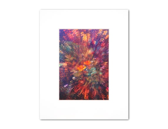'In Bloom' Metallic Print