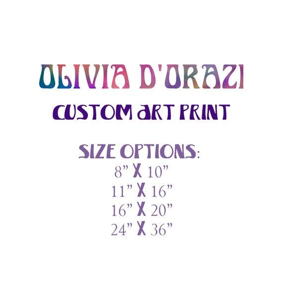 Custom Order Art Print