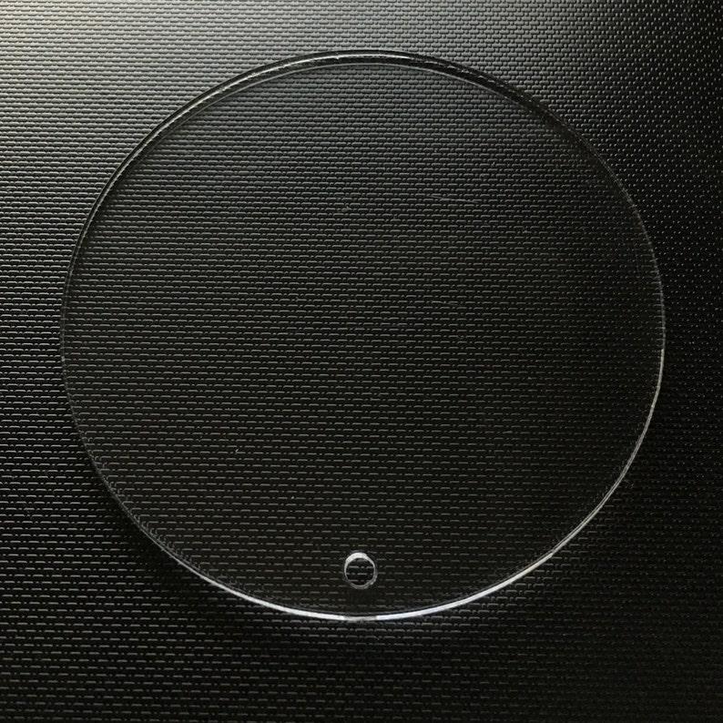 CIRCLE Blank Acrylic Disc 100 ct. CLEAR Acrylic keychain  2d20e0bd5f