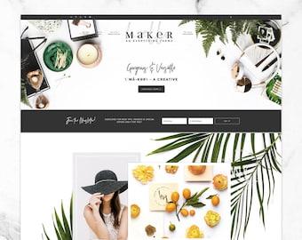 Wordpress Theme for Genesis, Feminine, Responsive