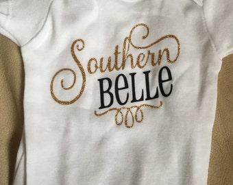 Southern belle onesie
