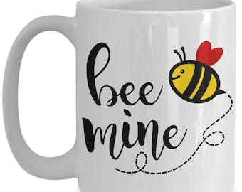 Valentine Bee Mine Coffee Mug