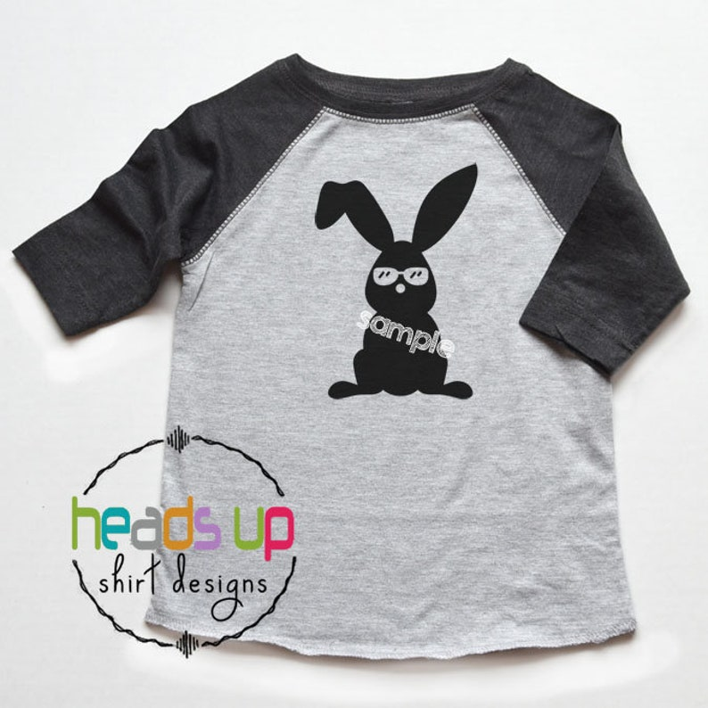594c1b1a47 Easter Shirt Cool Easter Bunny Kids Baby Bodysuit Easter   Etsy