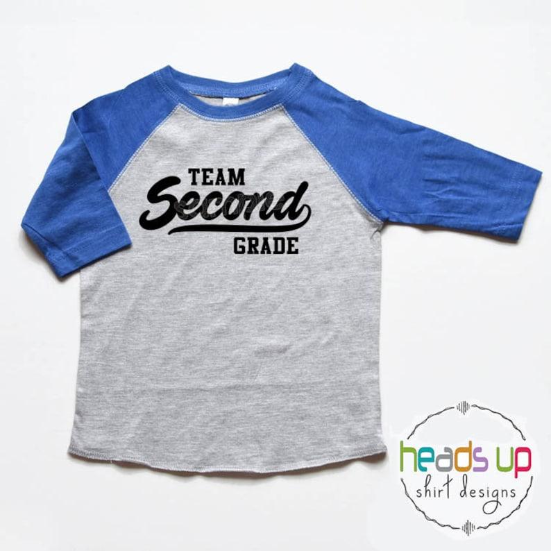 edebd3827 Second Grade Shirt Boy or Girl Kids Grade School 2nd Grade | Etsy