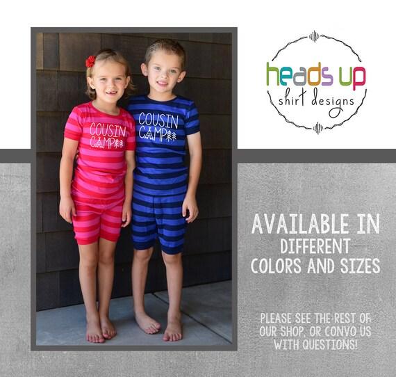 Cousin Crew Pajamas Beach Summer Kids Cousins Matching Pajama Family Reunion Trendy Toddler Sibling PJs Cousins Gift Cousin New Baby Popular