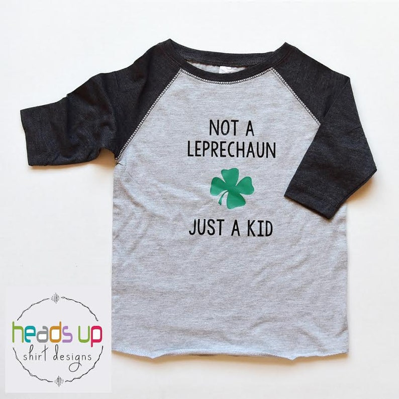 818ac59b St. Patrick's Day Raglan Shirt Toddler Boy/Girl | Etsy