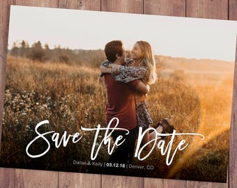 Save The Date Psd Etsy