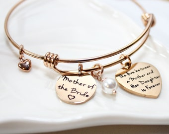 mother of the bride bracelet, personalized mother of the bride bracelet, mother of the bride date bracelet, mother of the bride gift