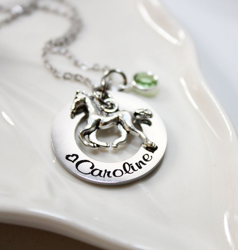 personalized horse necklace horse theme gift horse theme jewelry horse necklace horse name necklace horse name jewelry horse jewelry