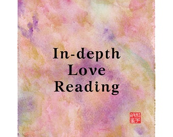 INDEPTH LOVE, TRUE Soulmates, Relationship, Insightful, Clairvoyant, Medium, Fortune-Telling, Love, Luck, Happiness, Fate, Destiny