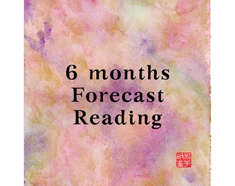 6 months, Half Year, Tarot, Psychic Reading, Clairvoyant, Medium, Fortune-Telling, Love, Luck, Career, Money, Happiness, Fate, Destiny