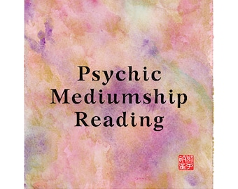 MEDIUMSHIP Loved ones, Spirit, Reading, Insightful, Clairvoyant, Mediumship, Fortune-Telling, Love, Luck, Happiness, Fate, Destiny