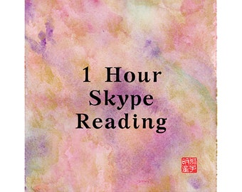 1 HOUR SKYPE READING, Intuitive, Energy, Spirit, Insightful, Clairvoyant, Fortune-Telling, Love, Luck, Happiness, Fate, Destiny