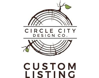 Custom Listing for Abbie
