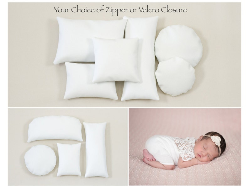 Four Pack and Six Pack of Posing Pillows image 0