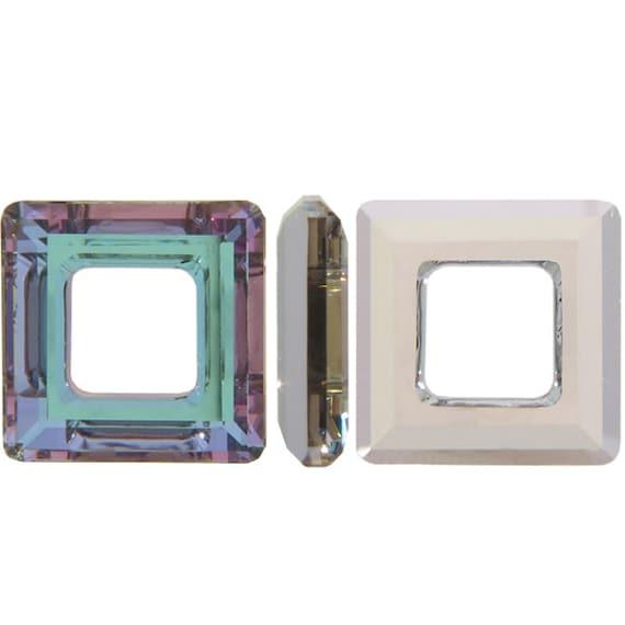 ad8795722 Swarovski Crystal Vitrail Lite Cosmic Ring 4439 Donut Ring   Etsy