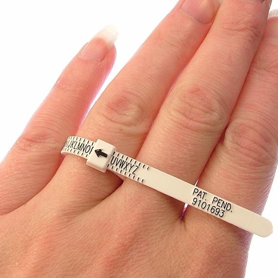 OLIVIA International Multi Sizer 4-In-1  Pack Ring Sizer Gauge UK USA Europe