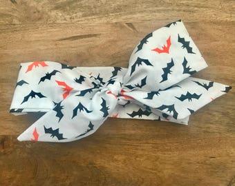 HALLOWEEN BATS headwrap