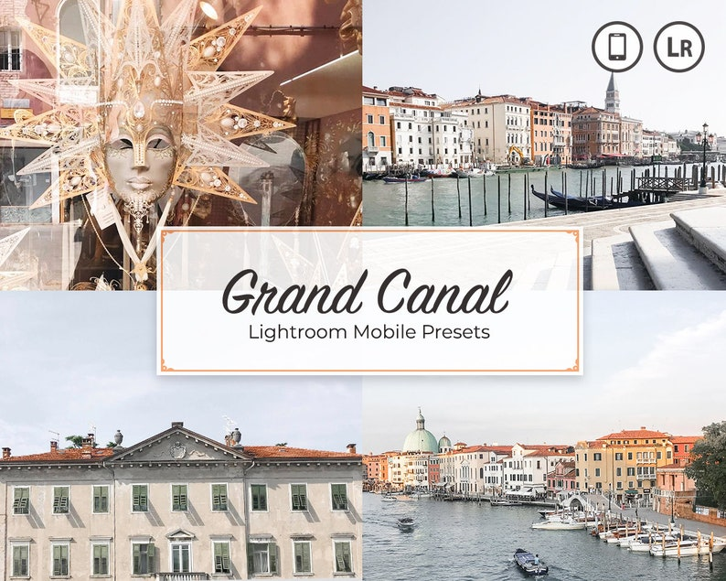 4 Lightroom Blogger Presets Photo Instagram Presets Pack Gray image 0