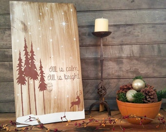 rustic holiday sign christmas sign rustic christmas woodland decor rustic signs rustic christmas decor christmas decor holiday