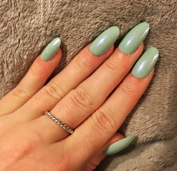 Pastel Blue False Nails Set of 20 Pretty Spring Fake Nails | Etsy on color design, setzer design, dy design, pi design, berserk design, er design, l.a. design, ns design, dj design, blue sky design,