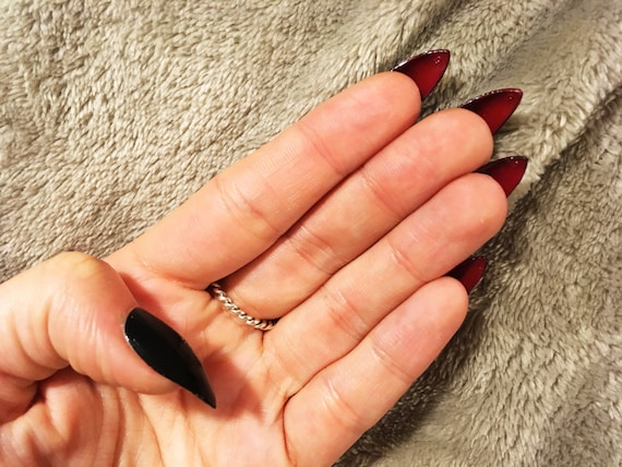 faux ongles louboutin