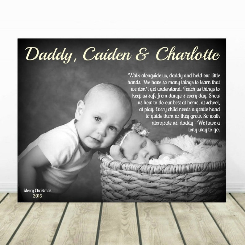 Walk With Me Daddy Personalized Christmas Gift Gift For ...