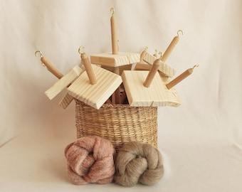 spindle wool spinning kit - Drop spindle kit