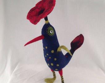 Indigo Rose Bird