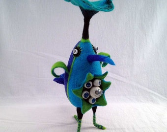 Turquoise Spring Bird
