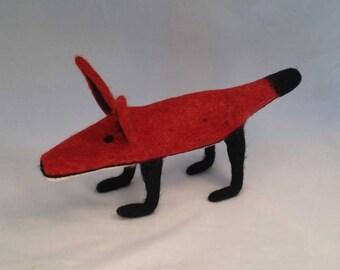 Felted Torpedo Fox