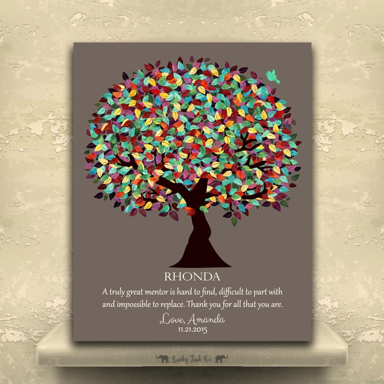 Personalized Gift For Boss Gift For Mentor Teacher ...