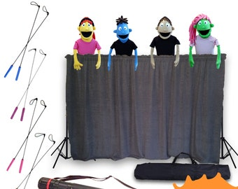 Puppet Starter Set |Puppet Ministry | Puppet Stage, Puppets, Arm Rods