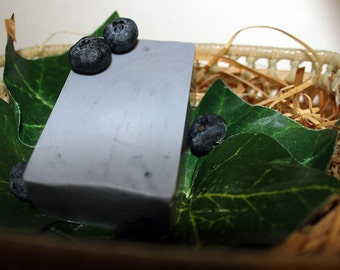 Blueberry Muffin Goat's Milk Soap
