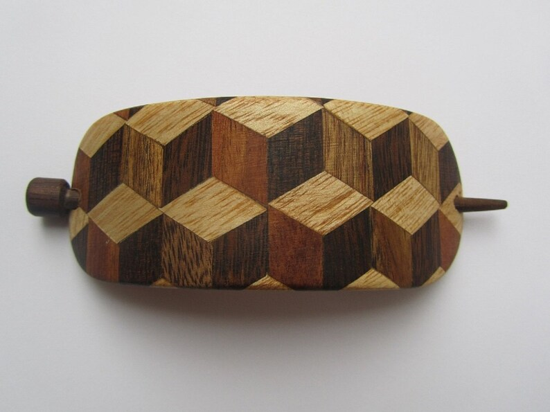 gift for women hair pin Wooden Hair clasp gift for girls Wooden hair barrette handmade wooden gift wooden hair care