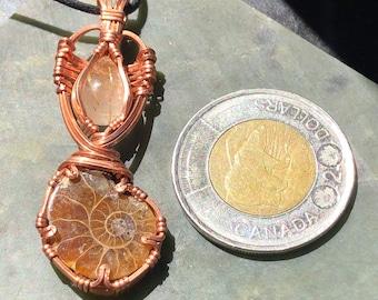 Beautiful copper pendant
