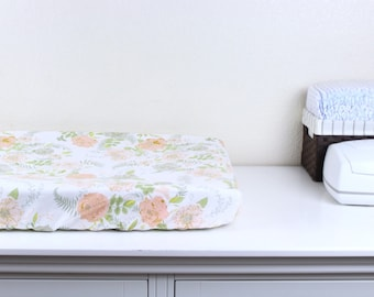 Changing Table Cover Etsy - Custom table pads 69 usd