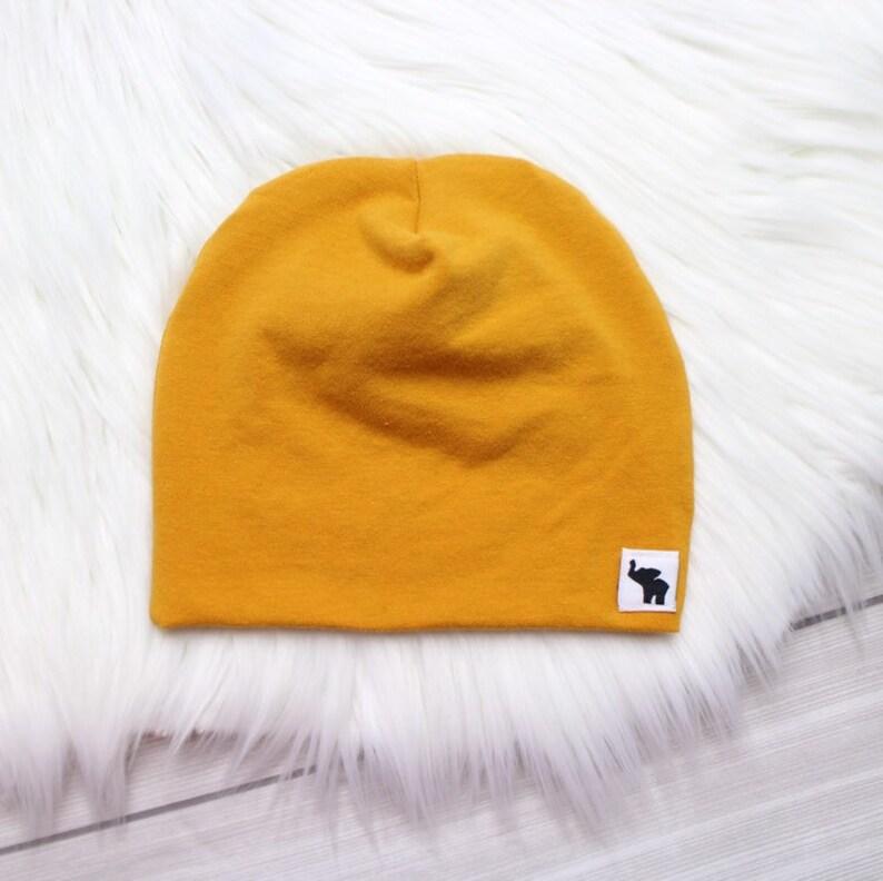 Mustard Pom Beanie    Mustard Yellow Beanie    Baby Beanie     976c3602ceb1