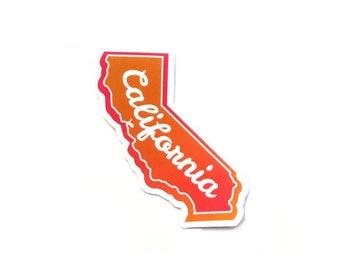 """3"""" California Sticker, California Wildfire Relief, donation sticker, California decal"""