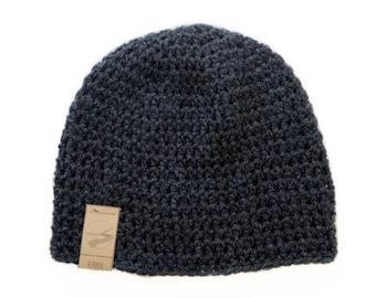 The Ebb beanie   Simple crochet beanie