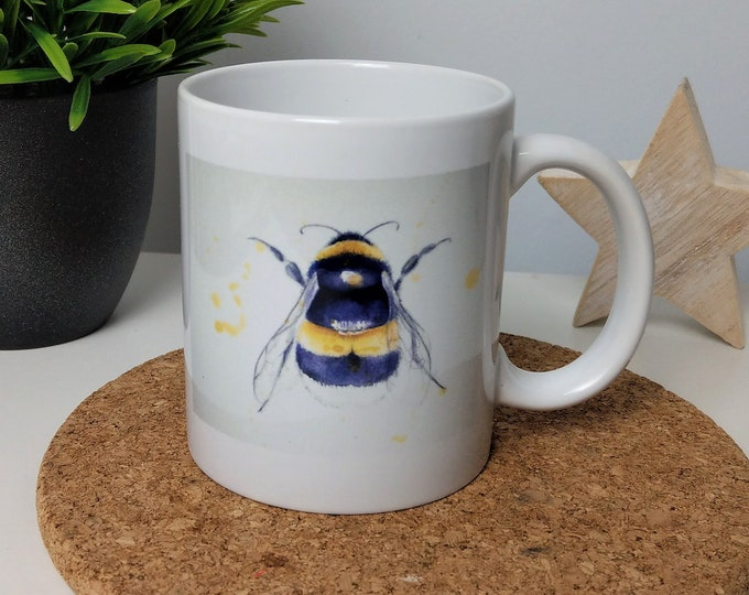 Bee mug original artwork