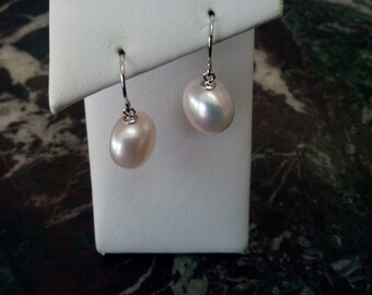 Fresh Water Pearl Drop Earrings  18-993