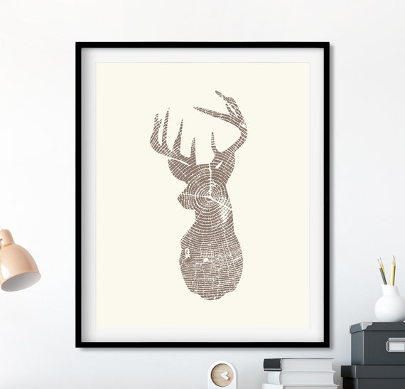 picture regarding Printable Deer Antlers identify Deer Intellect Print, Deer Brain Silhouette, Deer Printable, Antlers Print, Deer Antlers Printable, Wooden Grain Print, Animal Silhouette
