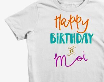 Kids Birthday Shirt, Happy Birthday Shirt, Kids Birthday Shirt, MaxandMaeKids, Max and Mae