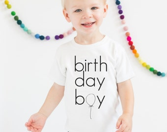 Kids Birthday Boy Shirt, Birthday Shirt, Childrens Birthday Shirt, Birthday Boy, Max and Mae Kids Clothing