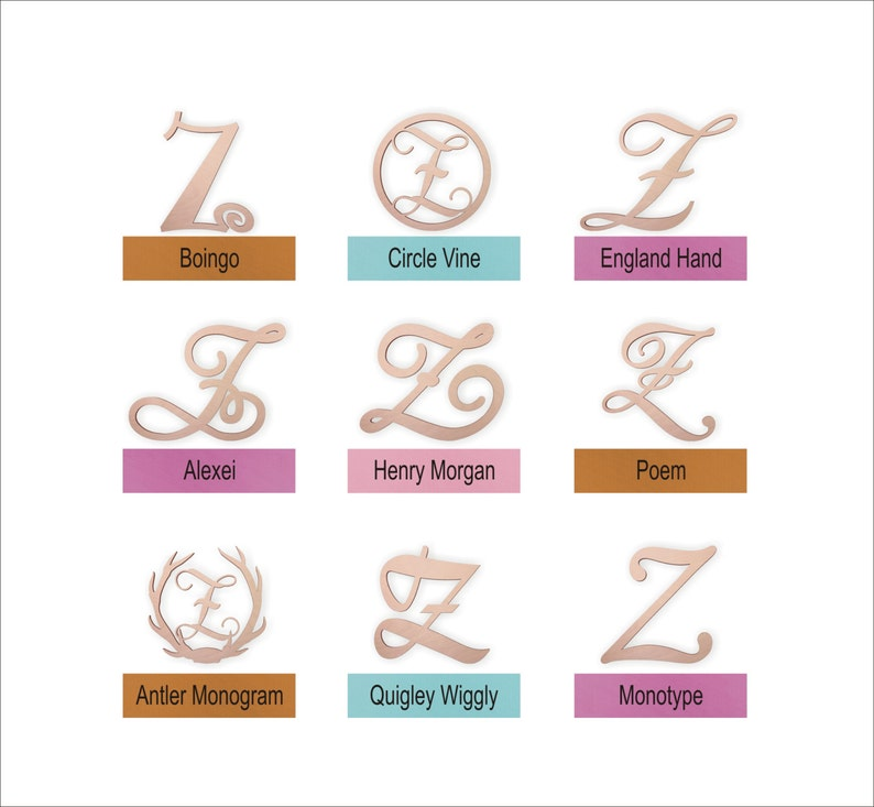 DIY Perfect for Crafts Kids Rooms Wooden Letter \u201cZ\u201d Large or Small Unpainted Weddings Unfinished Nursery