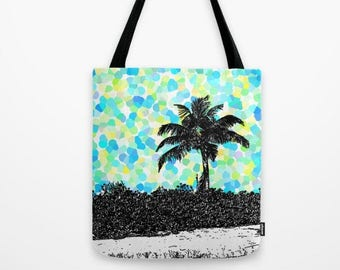 f5afd5cb70 Turquoise tote bag