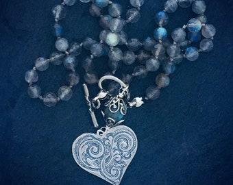 781b2ef82ac Labradorite necklace