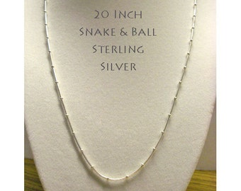 """STERLING CHAIN * * 20"""""""