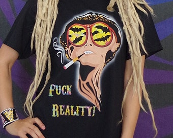 Fear and loathing in Las Vegas, trippy Classic T-Shirt UNISEX, Rave & Psytrance Festival Style